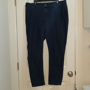 Ann Taylor curvy fit dark bootcut jeans